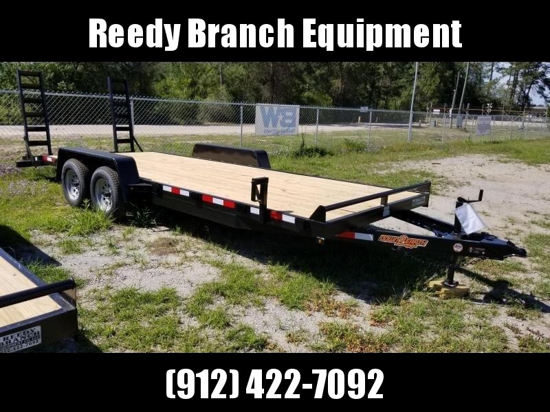 2018 Down 2 Earth Trailers DTE8220ER3.5B Equipment Trailer in Millwood, GA