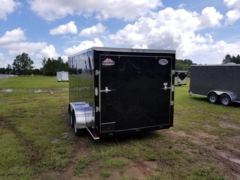 2019 ROCK SOLID CARGO (WHITEBLACK)FACTORY DIRECT PICKUP 7x14TA Enclosed Cargo Trailer