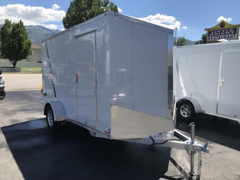 2019 Cargo Mate 6x12 Aluminum Enclosed Cargo Trailer