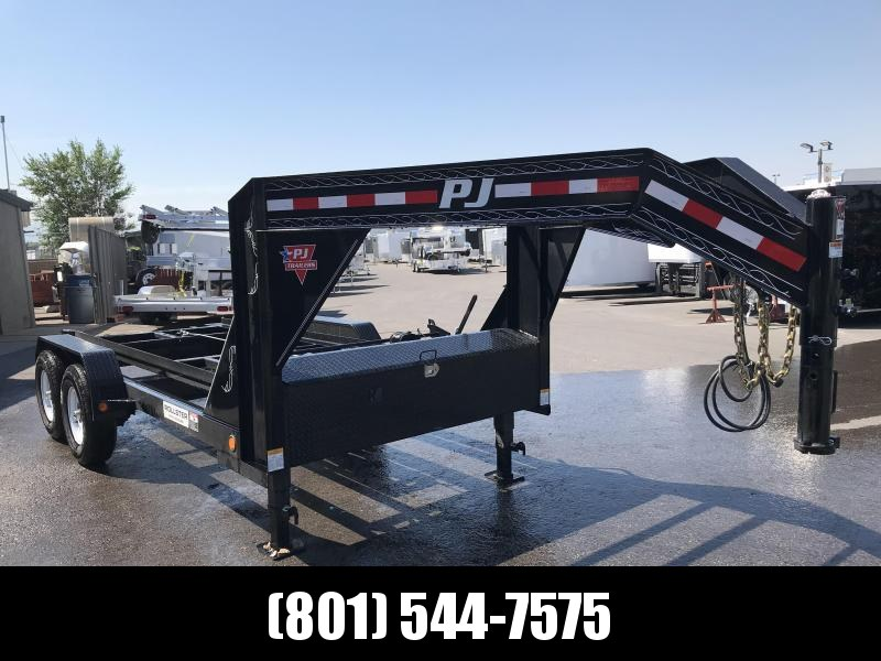 Tilt Container Trailers For Sale In Tx Nationwide Trailers >> 2020 Pj Trailers 14 Rollster Roll Off Dump Trailer