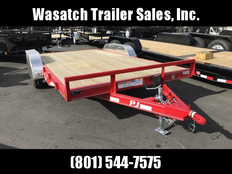 2019 PJ Trailers 16 Channel (C5) Equipment Trailer