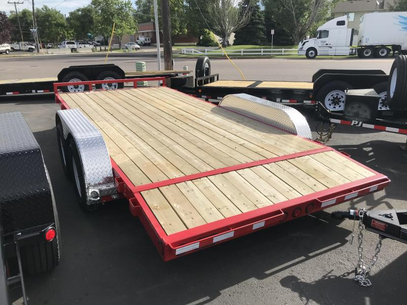 2019 PJ Trailers 16 Channel (C5) Carhauler