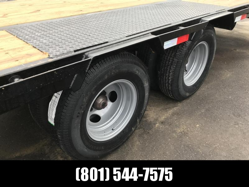 2019 PJ Trailers 35ft - Gooseneck Low-Pro Flatdeck with Duals (LD) Flatbed Trailer