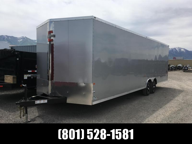 100x28 Charmac Stealth Carhauler with Diamond Package