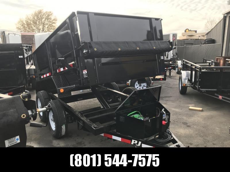 PJ 5x10 Tandem Axle Utility Dump (D5) Dump