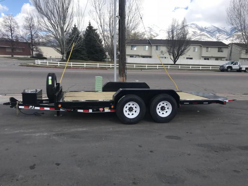 2018 PJ Trailers 16 Tilt Equipment Trailer