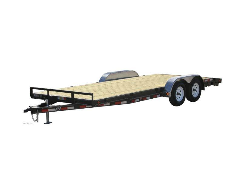 2019 PJ Trailers 16ft - 5 in. Channel Carhauler (C5) Car / Racing Trailer
