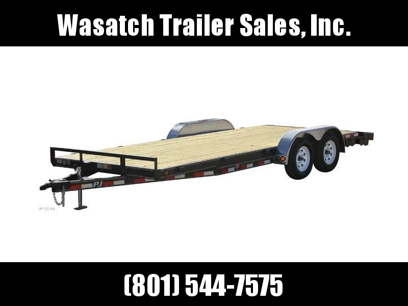 2019 PJ Trailers 16ft - 5 in. Channel Carhauler (C5) Equipment Trailer