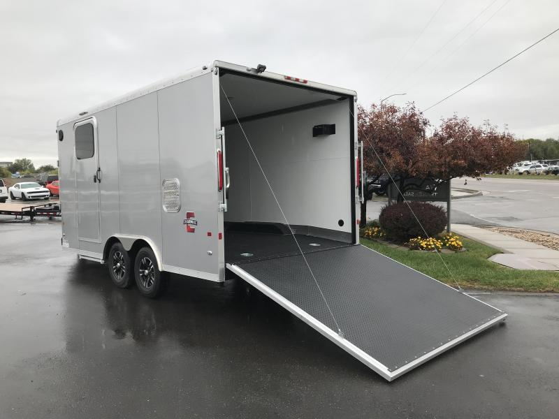 2018 Charmac Trailers 22ft Tri Sport Snowmobile Trailer