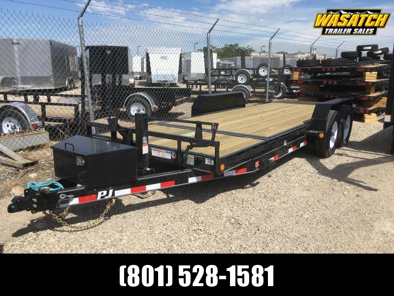 "PJ Trailers 6"" Channel Equipment Tilt (T6) Equipment Trailer"