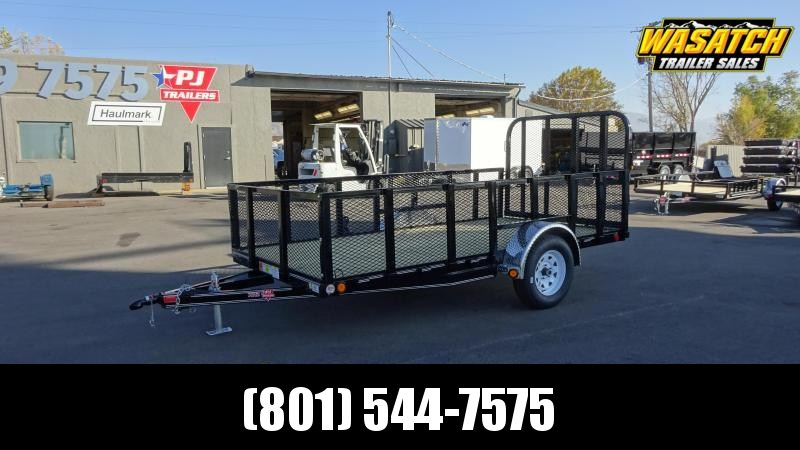 2020 PJ Trailers 72 in. Single Axle Channel Utility (U2) Utility Trailer