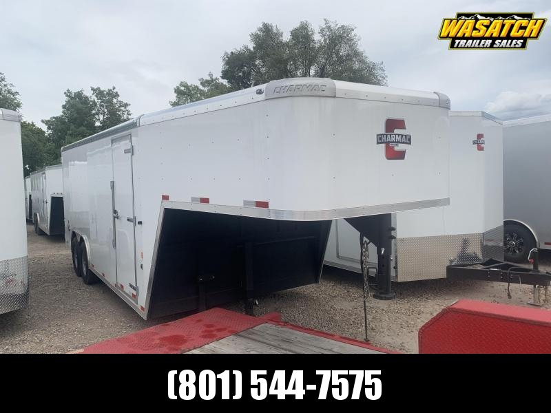 2020 Charmac Trailers 20ft Gooseneck Commercial Duty Enclosed Cargo Trailer