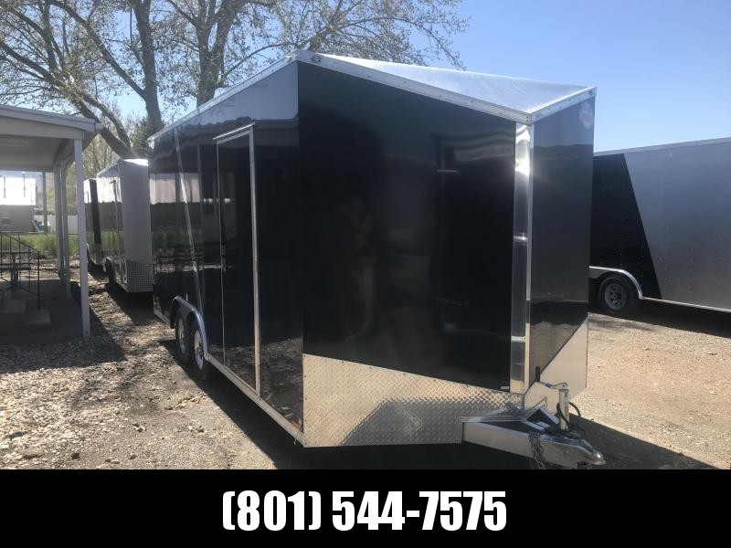 2019 Cargo Mate 8.5x18 Black Redline Enclosed Cargo Trailer