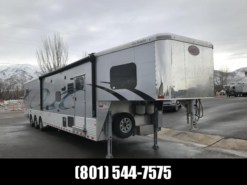 2018 Sundowner Trailers 46ft Silver Toy Hauler in Arlington, AZ