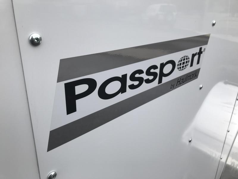 2018 Haulmark 6x12 Passport w Ramp Enclosed Cargo Trailer