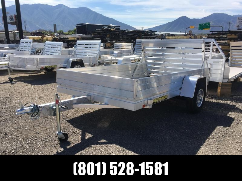 2020 Aluma 7210H Utility Trailer with 12in. Solid Sides