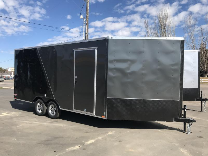 2018 Cargo Mate 23 ES Snowmobile Trailer