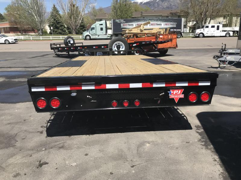 2018 PJ Trailers 24 Channel Super-Wide Equipment Trailer