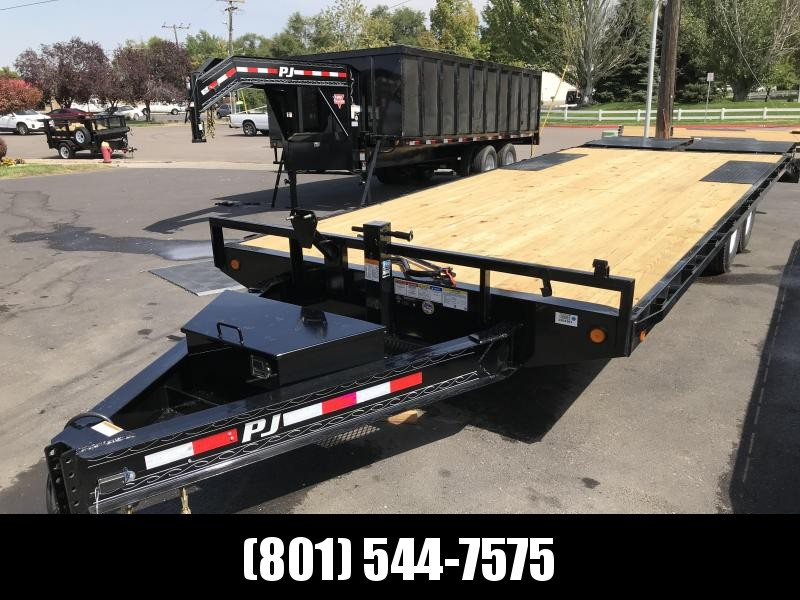 2019 PJ Trailers 8.5x24 F8 Equipment Trailer