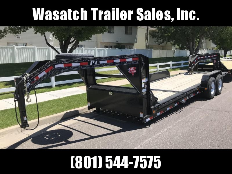2019 PJ Trailers 22ft - HD Equipment Tilt 6 in. Channel (TJ) Equipment Trailer