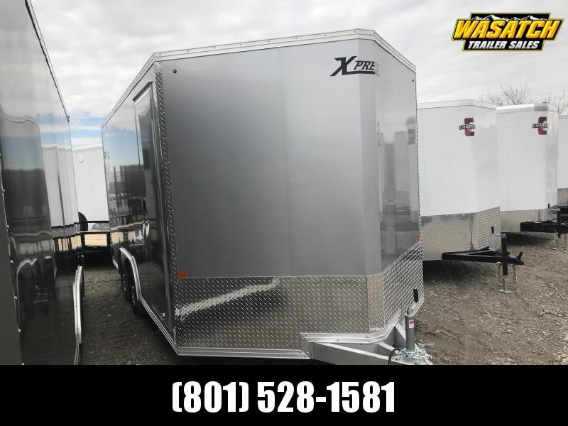 High Country 8x16 Xpress Enclosed Aluminum Cargo w/ V-nose