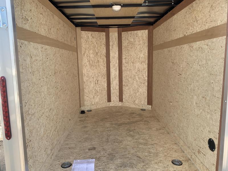 2019 Haulmark 5x8 Passport Deluxe Enclosed Cargo Trailer