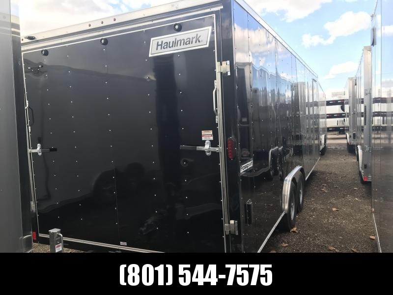 2019 Haulmark 8.5X24 Silver/Black Passport Enclosed Cargo Trailer