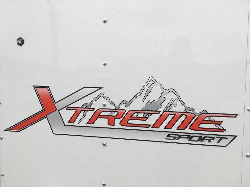 Mirage 8.5x20 Xtreme Sport Snowmobile Trailer