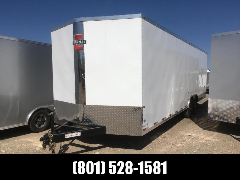 100x28 White Charmac Stealth Carhauler with Diamond Package in Ashburn, VA