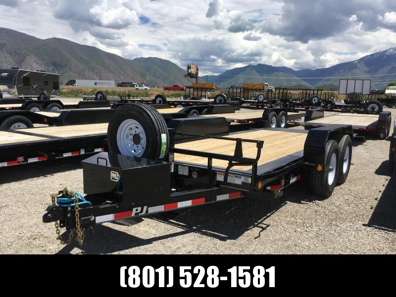 2019 PJ Trailers 16 HD Tilt with 6 in. Channel (TJ) Equipment Trailer