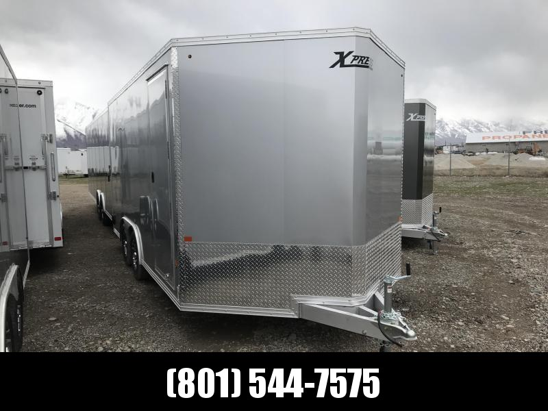High Country 8x16 Silver Xpress Car Hauler with Ramp