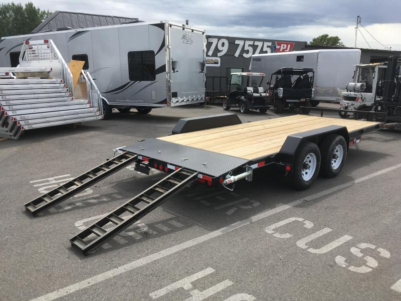 2020 PJ Trailers 18 ft - 5 in. Channel Equipment (CE) Trailer