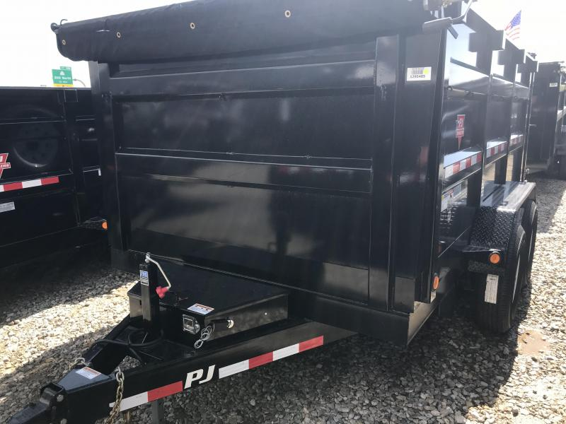 2018 PJ 12X83 High Side Dump Trailer