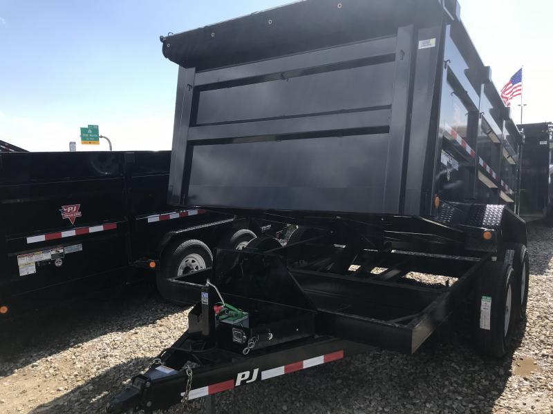 2018 PJ 12X83 High Side Dump Trailer