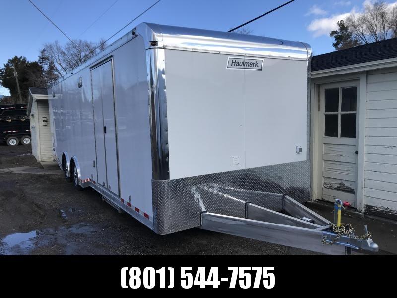 2019 Haulmark 8.5X28 White Aluminum Car / Racing Trailer in Ashburn, VA