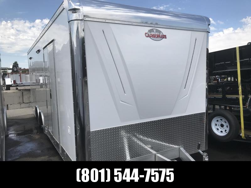 2018 Cargo Mate 8x24 Aluminum Eliminator Car Hauler in UT