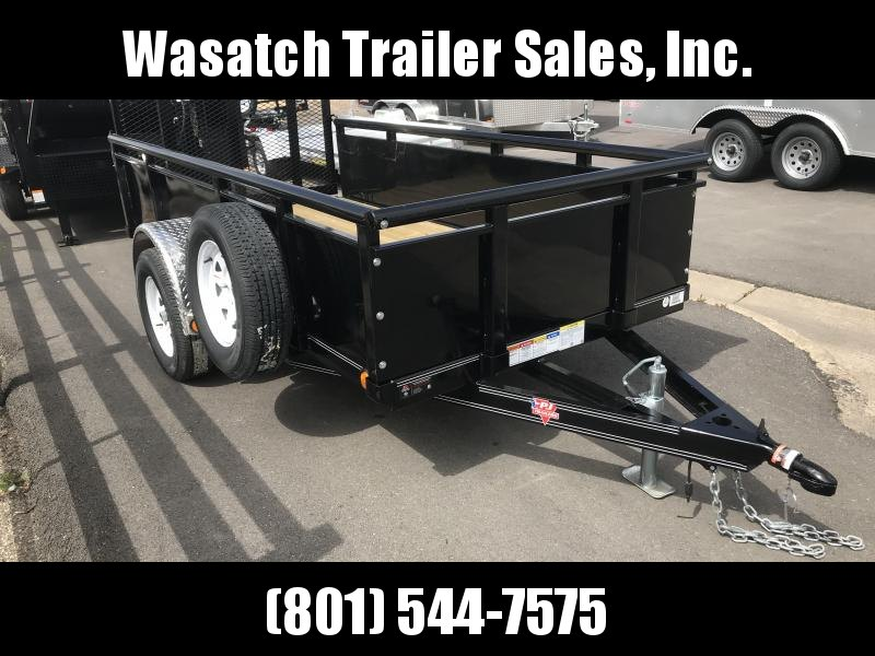 2019 PJ Trailers 10ft - 60 in. Single Axle Channel Utility (U6) Utility Trailer