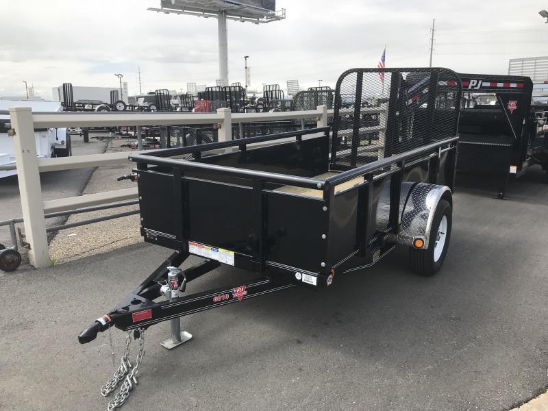 2019 PJ Trailers 10ft - 60 in. Single Axle Channel Utility (U6) Utility Trailer