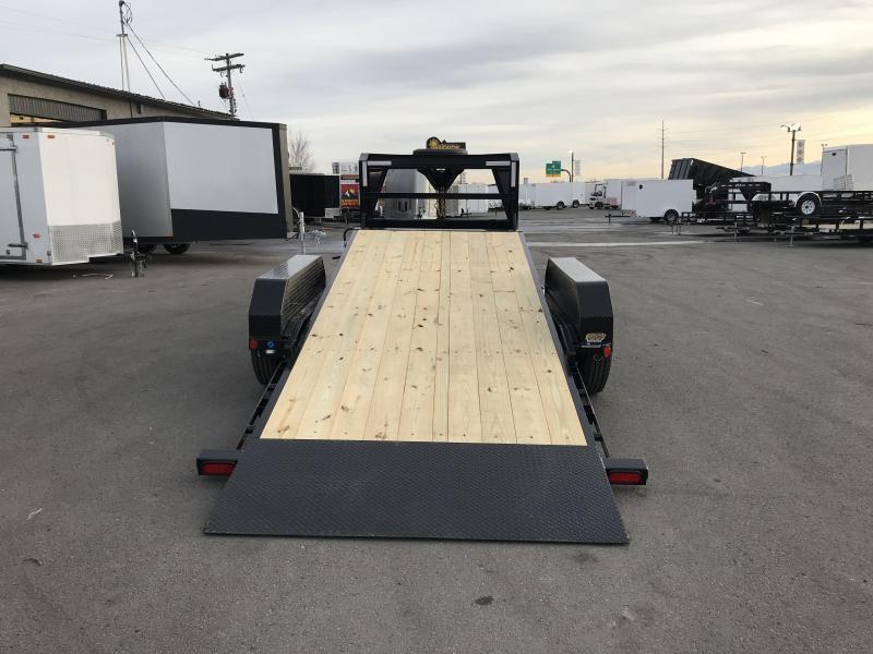2019 PJ Trailers 20ft - 6 in. Channel Equipment Tilt (T6) Car / Racing Trailer