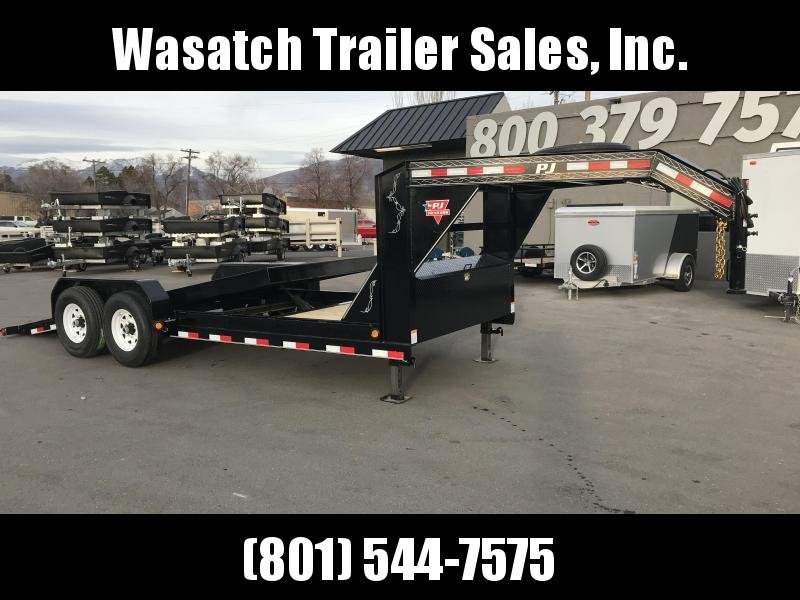 2019 PJ Trailers 20ft - 6 in. Channel Equipment Tilt (T6) Equipment Trailer