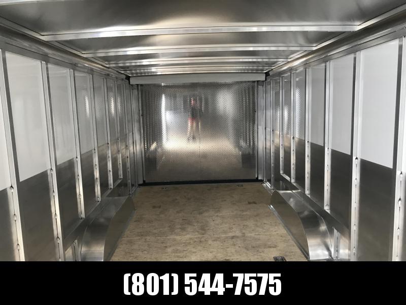 2018 Sundowner Trailers 24 White Gooseneck Enclosed Cargo Trailer