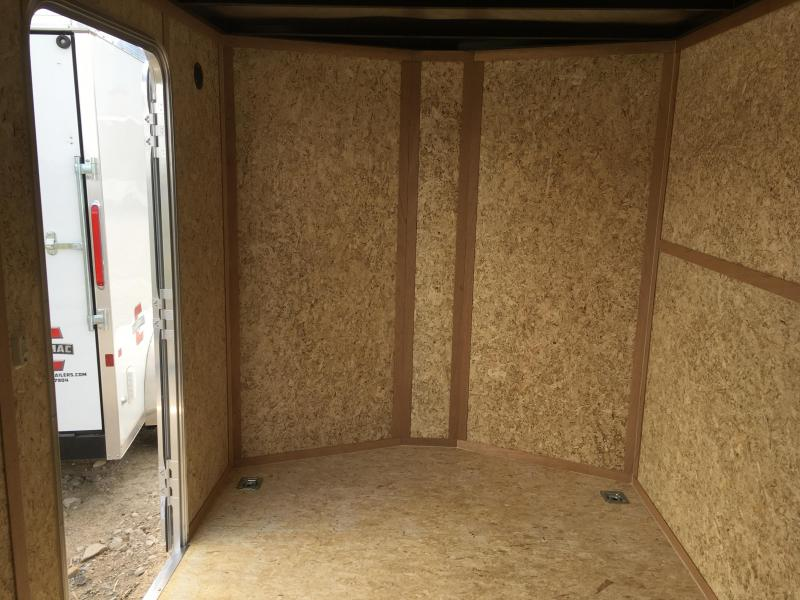 Charmac 7x14 Silver Stealth Cargo with Ramp