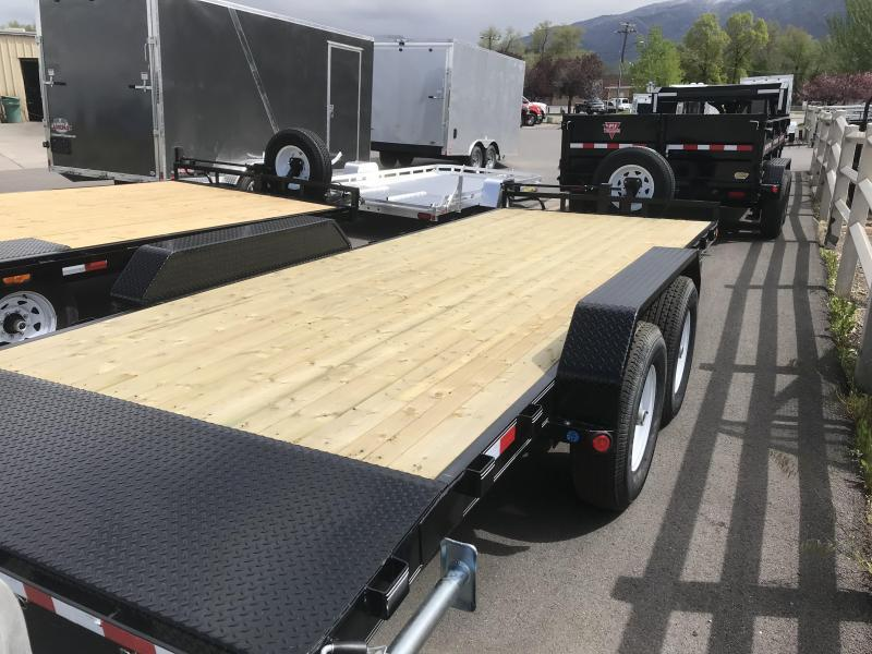 2019 PJ Trailers 24ft - 6 in. Channel Equipment (CC) Open Car / Racing Trailer