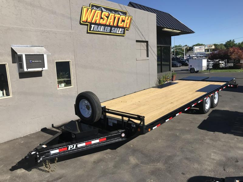 2019 PJ Trailers 8x24 F8 Flatbed Trailer in Circle, AK