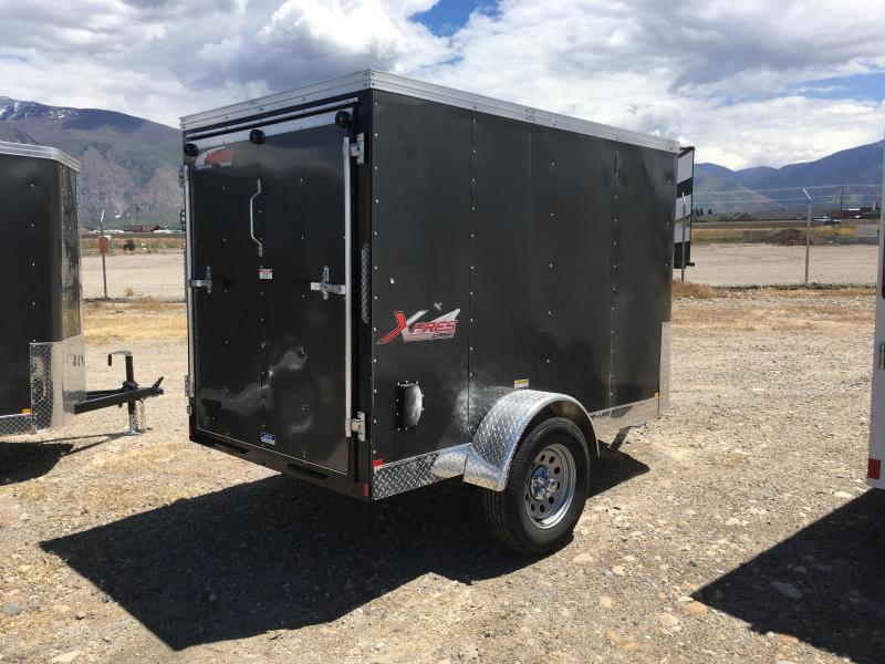 5x8 Charcoal Mirage Trailers Xpres Cargo Trailer | Wasatch Trailer