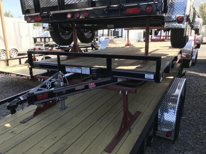 2018 PJ Trailers 20ft C4 Car Hauler