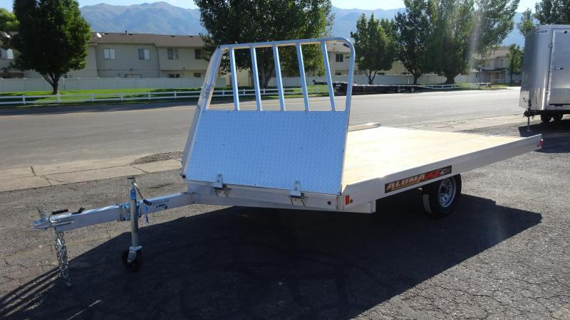 2018 Aluma 8612 Aluminum Snowmobile Trailer