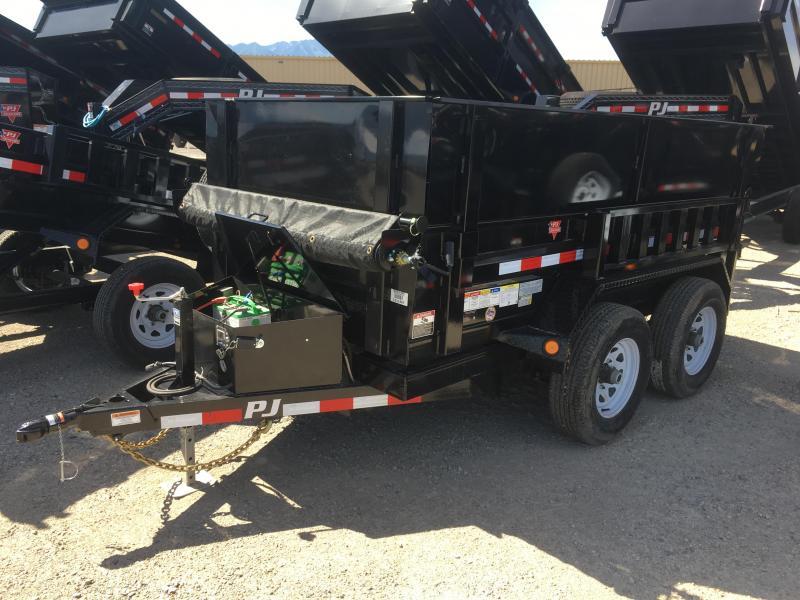 PJ Trailers 60 in. Utility (D5) Dump Trailer