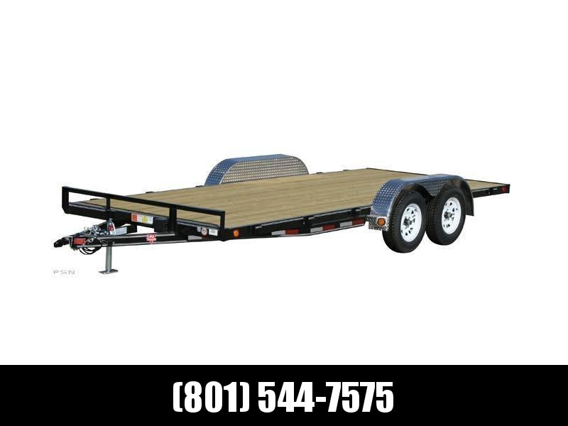 2019 PJ Trailers 20ft - 4 in. Channel Carhauler (C4) Equipment Trailer