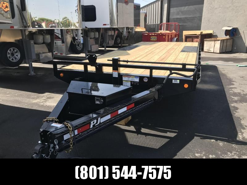 2019 PJ Trailers 20ft F8 Equipment Trailer in UT